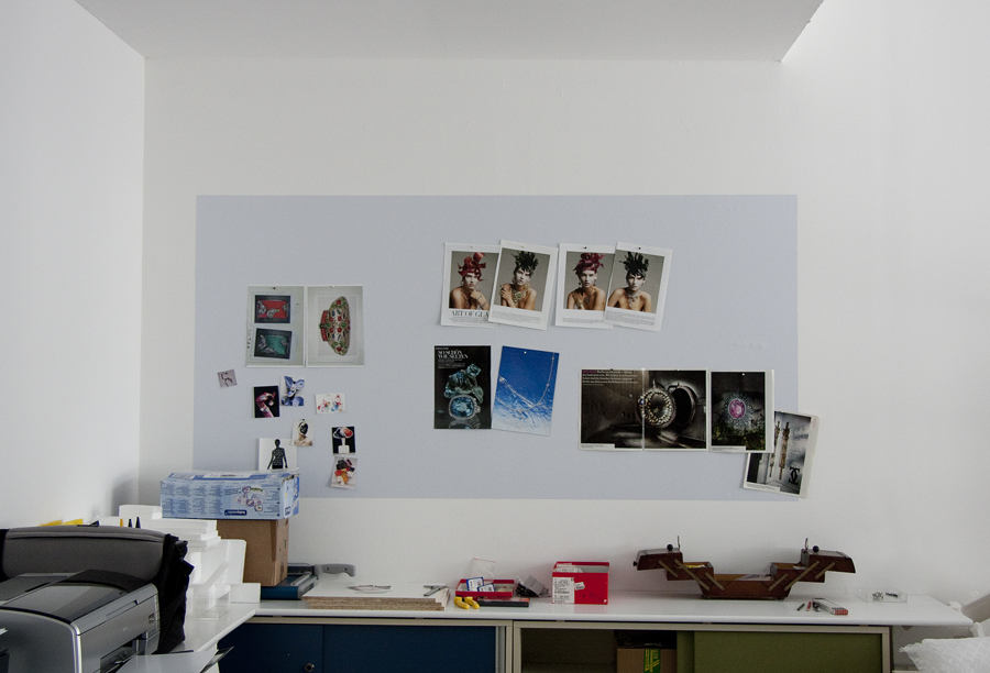Selbstklebende magnetische Whiteboardfolie_100x40cm weiß  liniert